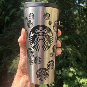 Starbucks Siren Mermaid Logo Stainless Steel Cup